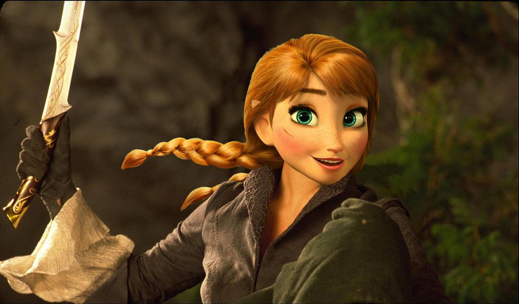 Anna - Arwen by JOSGUI