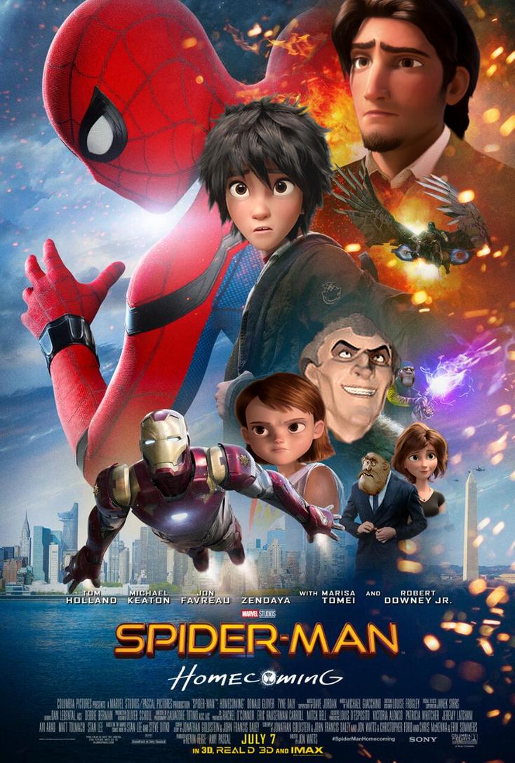 Spiderman Homecoming by JOSGUI