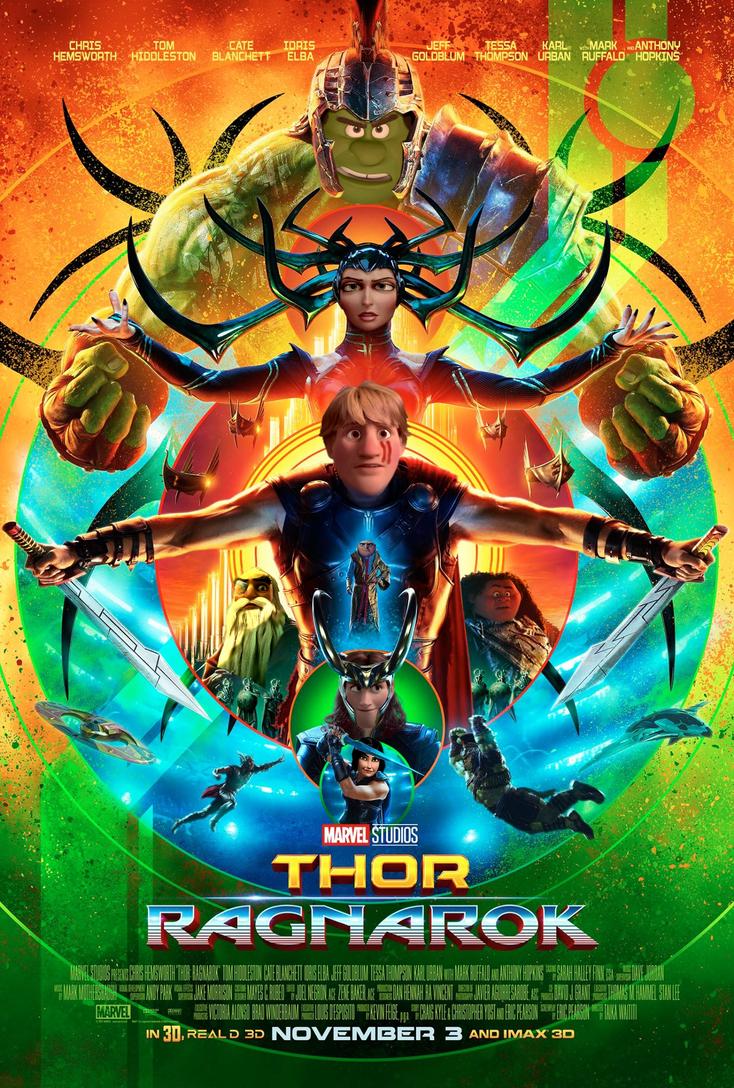 Thor - Ragnarok (2) by JOSGUI