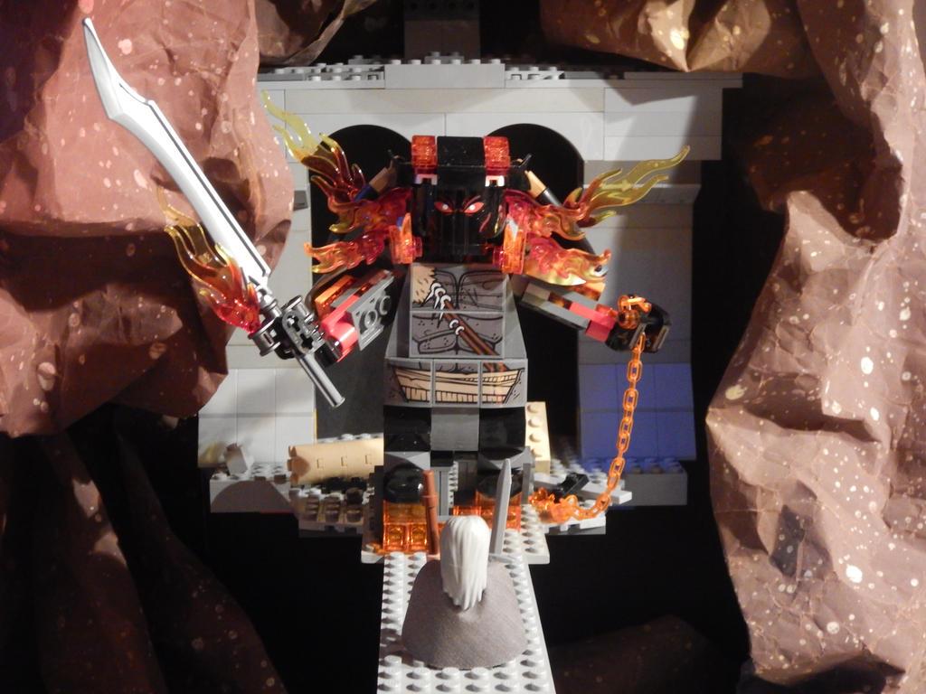 Khazad dum Bridge Lego by JOSGUI