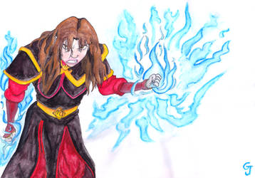 Angry Azula by JOSGUI