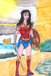 Wonder Woman by JOSGUI