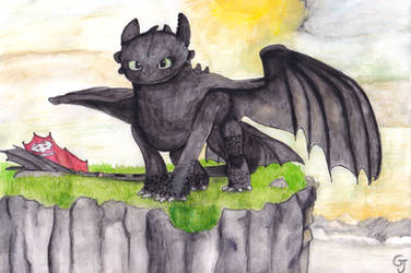 Toothless (2) by JOSGUI