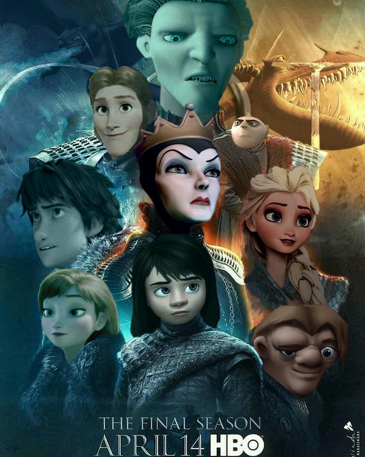 Game of Thrones - Season 8 by JOSGUI