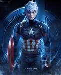 Jack Frost - Captain America by JOSGUI