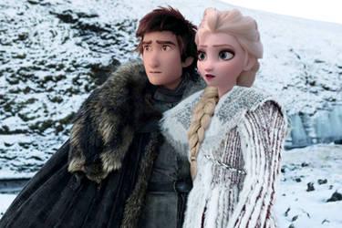 Jon and Daenerys by JOSGUI