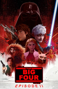 Big Four - Star Wars II (request for MrGreen1306)