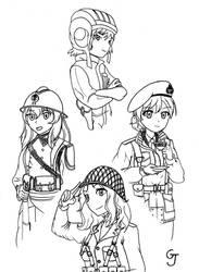 WIP: 75th Victory Day anniversary Girls und Panzer