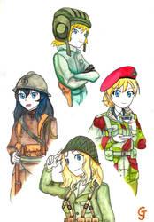 75th Victory Day anniversary - Girls und Panzer