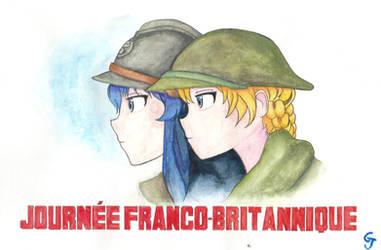 French-British day - Girls und Panzer