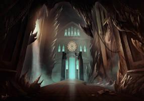 Ravenstein Dungeon by AnthonyAvon