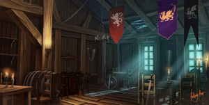 Tavern of the Royal Heroes by AnthonyAvon