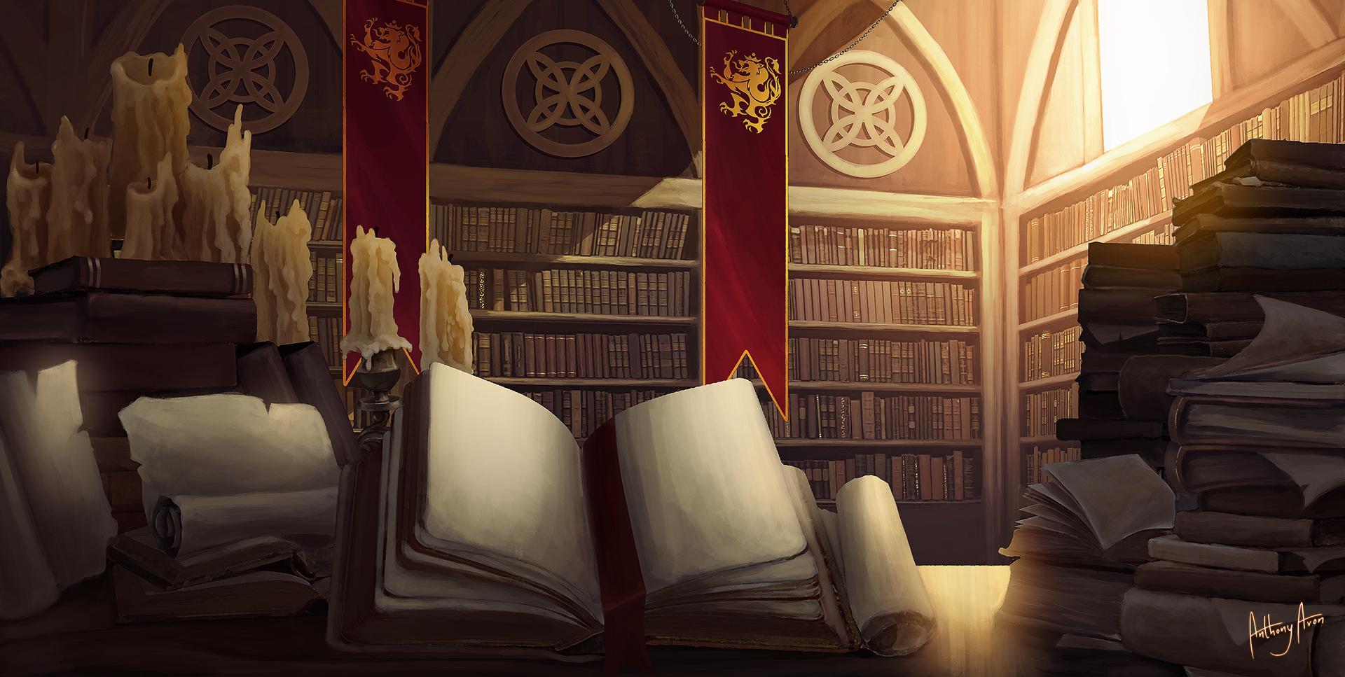 Royal Library by AnthonyAvon