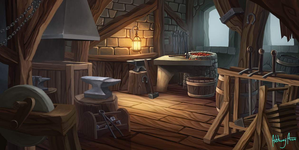 Royal Blacksmith by AnthonyAvon