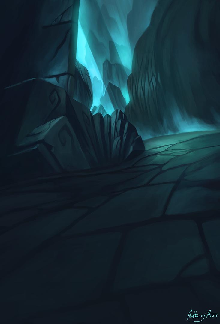 Dragon's Cave by AnthonyAvon