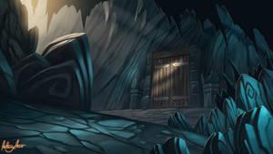 Dragon's cave entrance