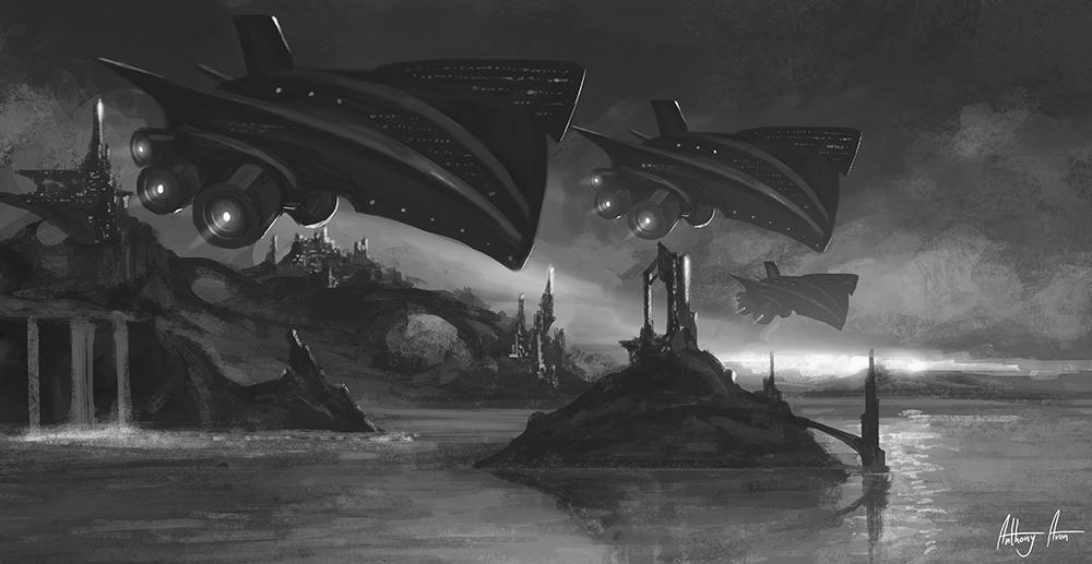 Ravagers (sketch) by AnthonyAvon