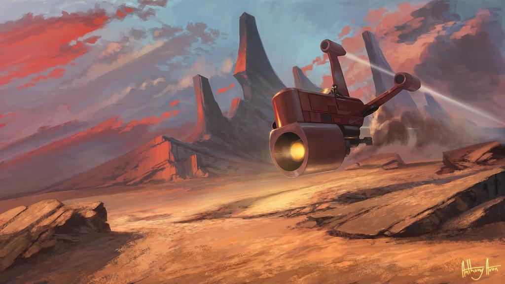 The Strider, Star Wars Fan Fiction by AnthonyAvon