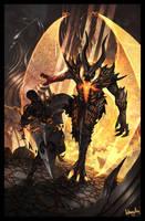 Demonic Form by AnthonyAvon