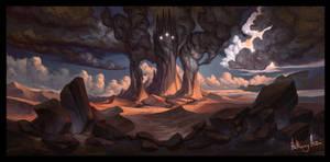Thangorodrim by AnthonyAvon
