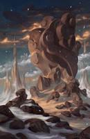Cloud Rock by AnthonyAvon