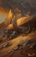Redsteel Mines by AnthonyAvon