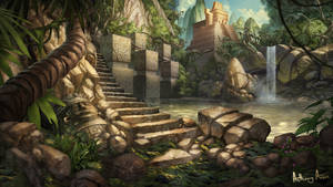 Temple of the Jaguar by AnthonyAvon