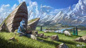 Counting Sheep by AnthonyAvon