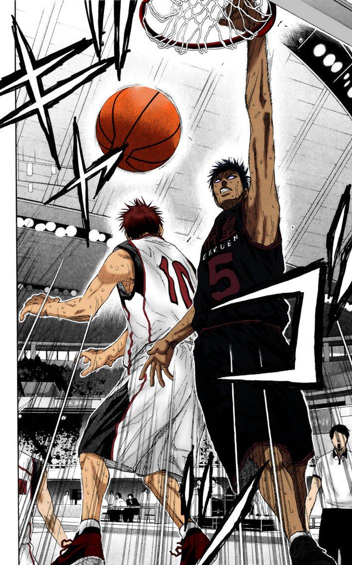 Aomine vs Kagami by Daisuke-Dragneel
