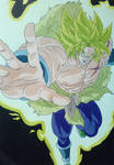 Broly Super Saiyan Full Power by Daisuke-Dragneel