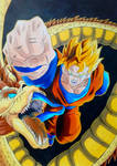 Future Gohan Dragon Fist by Daisuke-Dragneel