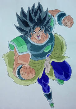 Broly Ikari Rage form