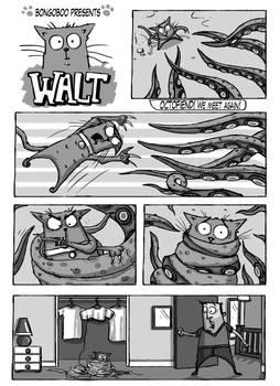 Walt The Cat - Octofiend