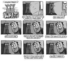 Walt the Cat - Morning!