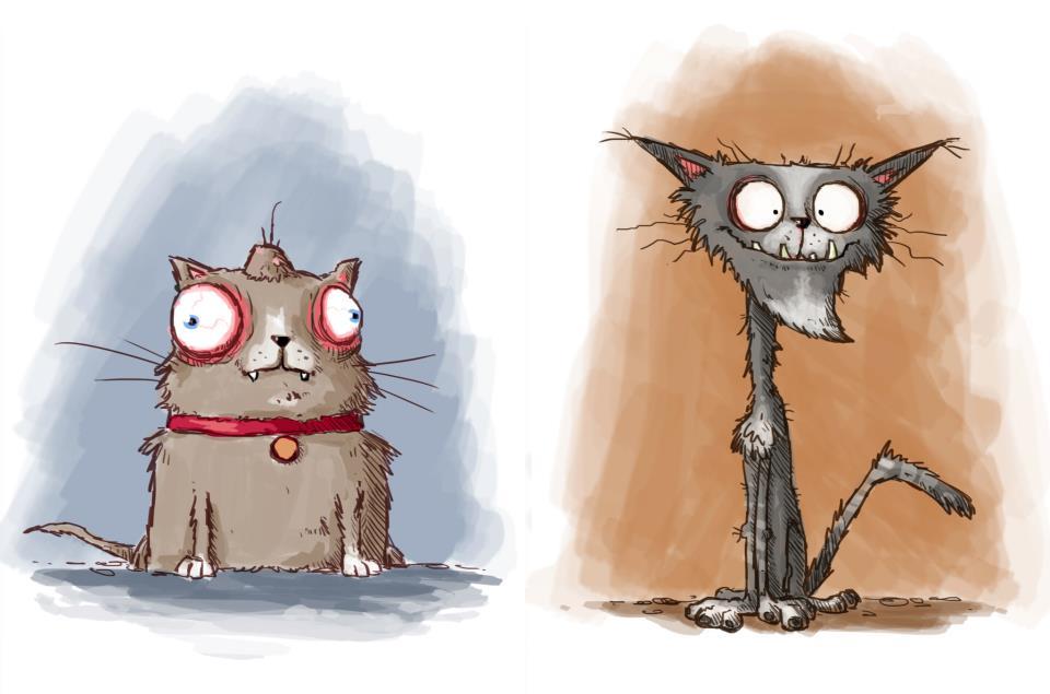 Kết quả hình ảnh cho ugly cat cartoon