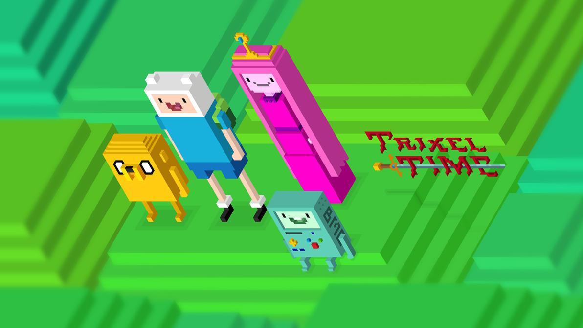 Trixel Time by mdk7