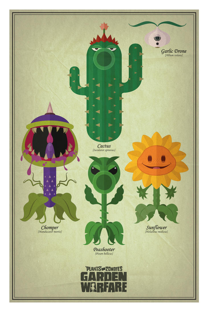 Pvz Garden Warfare Herbarium Warfare By Mdk7 On Deviantart