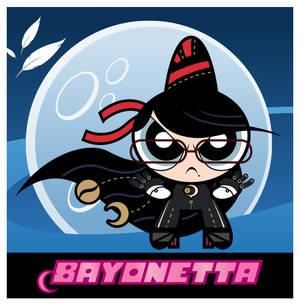 Powerpuff Bayonetta