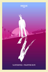 Hotline Miami 2 Wrong Number Minimal Poster