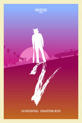 Hotline Miami 2 Wrong Number Minimal Poster 2