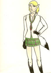 Schoolgirl Lin by Dragonlet