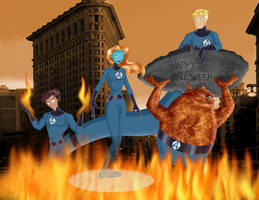 The BLoSC Fantastic Four by TyParsec