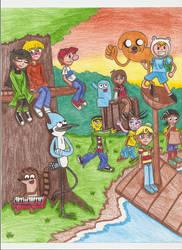 Cartoon Network Favourites by DBJay