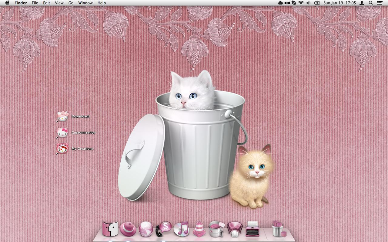 [Mac] My Cute Kitty Pink Desktop My_cute_kitty_pink_desktop_by_shrantellatessa-d72unb6