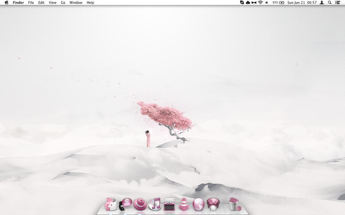 White Dreams: Lost Under the Pinkful Tree by Shrantellatessa