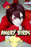 Angry red bird: G Dragon XD by Arichka