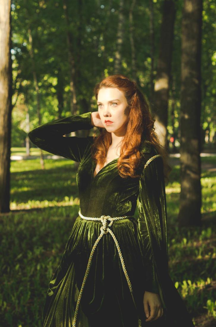 Scarlett O`Hara dress (2) by Arichka