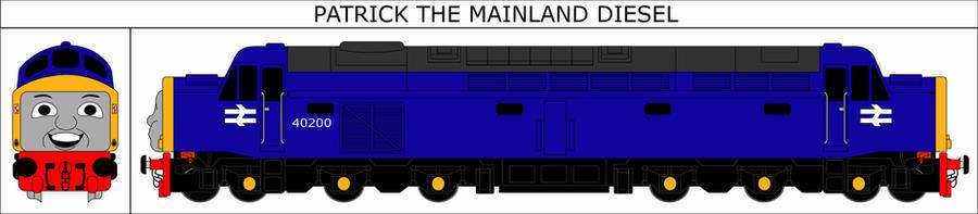 Patrick the Mainland Diesel Portrait