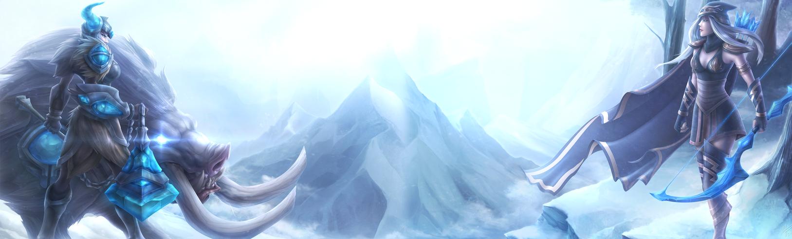 The Frostguard - Sejuani vs. Ashe by DenJento