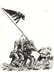 Iwo Jima. by knyttets